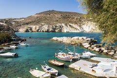 Mandrakia traditional Greek village Royalty Free Stock Images