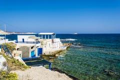 Mandrakia traditional Greek village Royalty Free Stock Photo