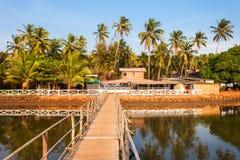 Mandrem beach Goa India Stock Image