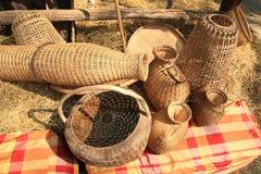 Mandrijs door verschillende stijlen voor Thaise met de hand gemaakt stock foto's