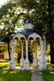 Mandril de pedra antigo em um monastério Foto de Stock