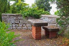 Mandril de pedra em São Marino fotografia de stock