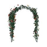 mandril do jardim da rendição 3D no branco Fotografia de Stock Royalty Free