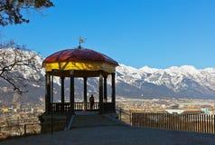 Mandril em Innsbruck Áustria Fotografia de Stock Royalty Free