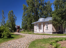 Mandrogi Russian Village attractions in Verkhniye Mandrogi Stock Images
