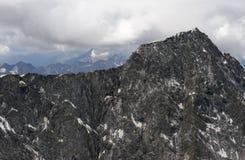 Mandrone-Spitze in Adamello-Strecke, Italien Lizenzfreie Stockfotografie