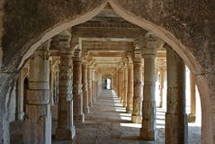 Mandu. India, Mandu: Mandu is a ruined city in the Dhar district in the Malwa region of western Madhya Pradesh state, central India. In the 10th century Mandu stock photography