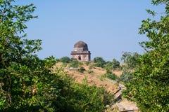 Mandu Historyczny grobowiec lub pałac stora fotografia stock