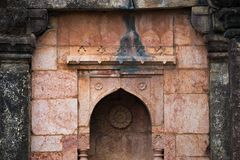 Mandu India, afghan ruins of islam kingdom, mosque monument and muslim tomb, interior details. Mandu India, afghan ruins of islam kingdom, mosque monument and Royalty Free Stock Images