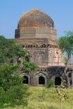 Mandu or Mandav Two Storied Historic Palace stock photo