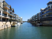Mandurah-Architektur Stockfoto