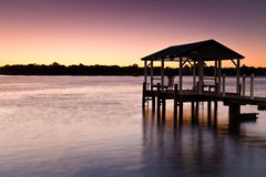 Mandurah Jetty Stock Image