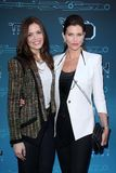 Mandy Moore, Tricia Helfer at Disney XD's  Royalty Free Stock Image