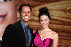 Mandy Moore,Zachary Levi Royalty Free Stock Images