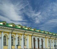 Manege Exhibition Hall in Moscow. Russia Stock Image