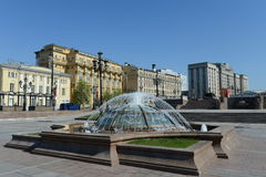 Manege Square in Moscow. Royalty Free Stock Photography