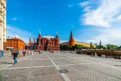 Manege square of Moscow Stock Images