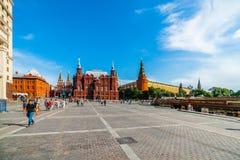 Manegevierkant van Moskou Stock Afbeeldingen