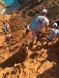 A maneira à praia do limania de Seitan Imagens de Stock Royalty Free