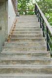 Maneira acima das escadas da casa Foto de Stock