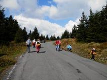 Maneira ao› d de PradÄ - montanhas checas Fotos de Stock