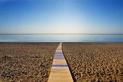 Maneira ao mar Imagem de Stock