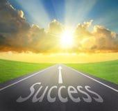 Maneira ao sucesso Foto de Stock Royalty Free