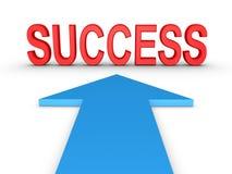 Maneira ao sucesso Imagens de Stock Royalty Free