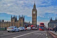 Maneira a Big Ben Imagem de Stock Royalty Free