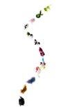 Maneira chinesa do zodíaco Fotografia de Stock Royalty Free