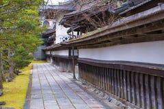 Maneira da caminhada ao templo imagem de stock royalty free