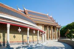 Maneira da caminhada em torno de Wat Rajabopit Foto de Stock Royalty Free
