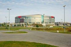 Maneira da entrada por conseguinte ao salão da arena Imagem de Stock Royalty Free