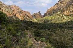 A maneira - da fuga na curvatura grande, Texas Fotografia de Stock Royalty Free