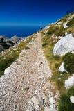A maneira da montanha em Bikovo Fotos de Stock