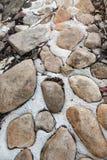 Maneira da rocha foto de stock