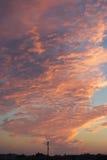 A maneira das nuvens Foto de Stock Royalty Free