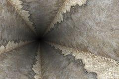 Maneira de furo profundo em uma mina de carvão fotografia de stock royalty free