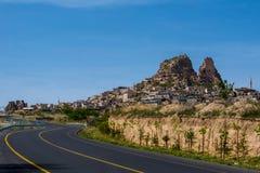Maneira de ir Cappadocia imagem de stock