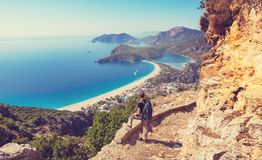 Maneira de Lycian fotos de stock royalty free