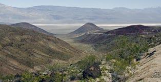 A maneira a Death Valley Fotografia de Stock Royalty Free