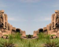 Maneira do cavaleiro Fotografia de Stock