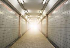 Maneira do túnel Fotografia de Stock Royalty Free