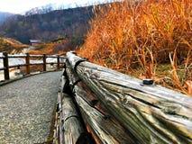 Maneira do trajeto do vale do inferno Fotografia de Stock Royalty Free