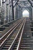 Maneira do trem Fotografia de Stock Royalty Free