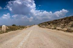 Maneira dos patriarcas israel fotografia de stock