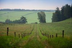 A maneira em Adrspach, CZ Foto de Stock Royalty Free