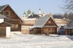 A maneira fora da vida em Rússia velha Fotografia de Stock