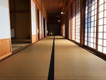 Maneira interior da caminhada de direita do cargo no governo do Hokkaido Imagem de Stock