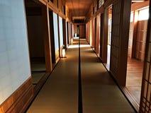 Maneira interior da caminhada de esquerda do cargo no governo do Hokkaido Fotos de Stock Royalty Free